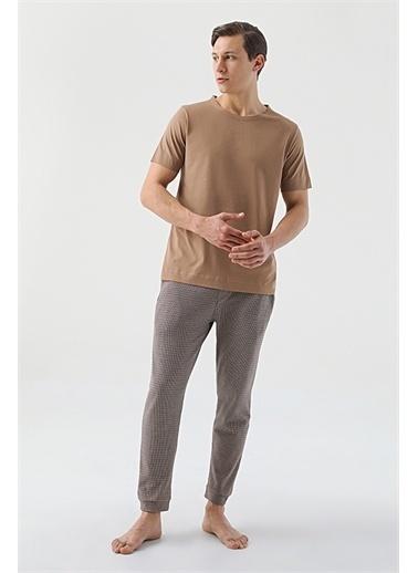 Tween Örme Pıjama Takımı Camel